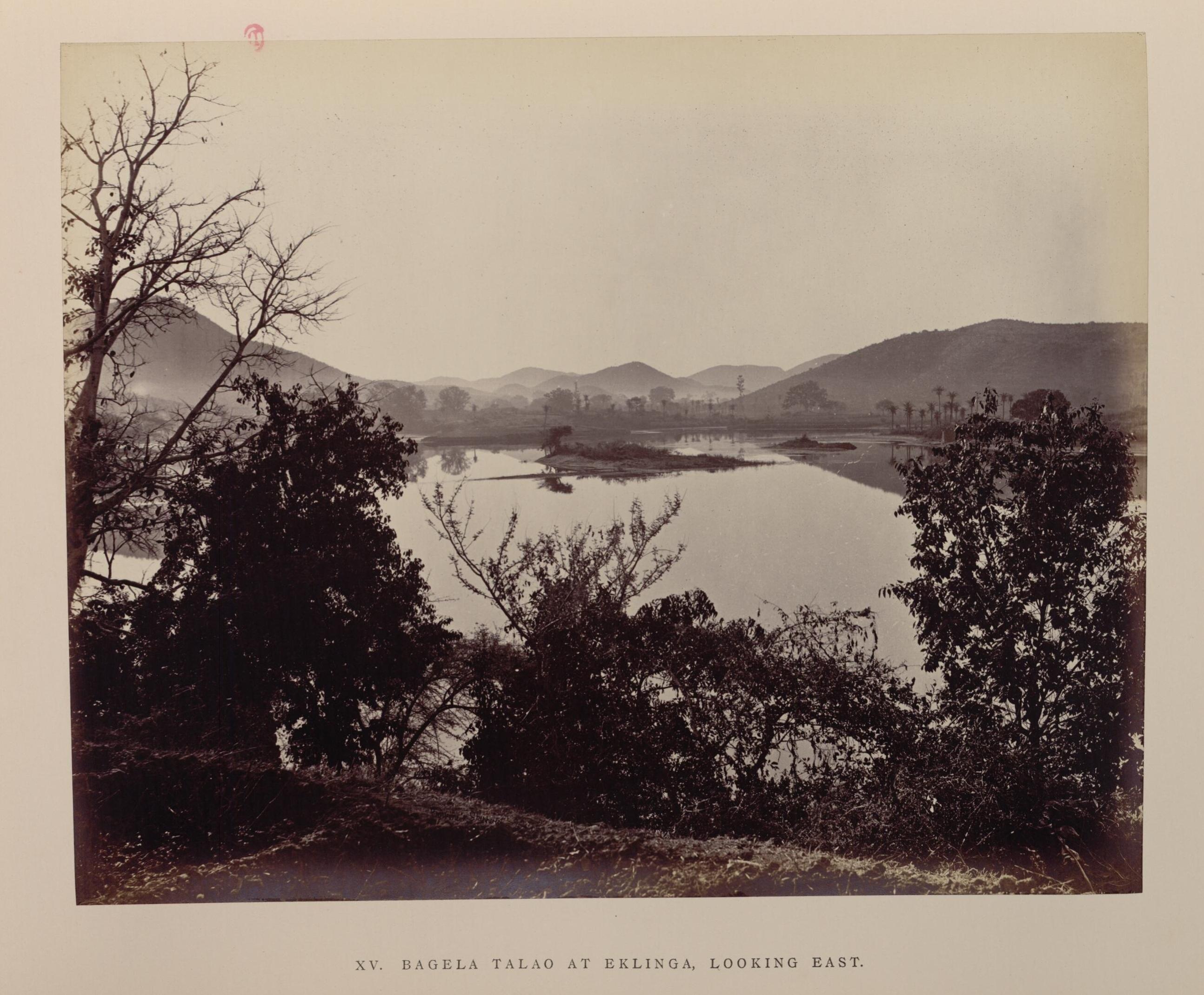 Озеро Багела в Еклинге. Вид на восток