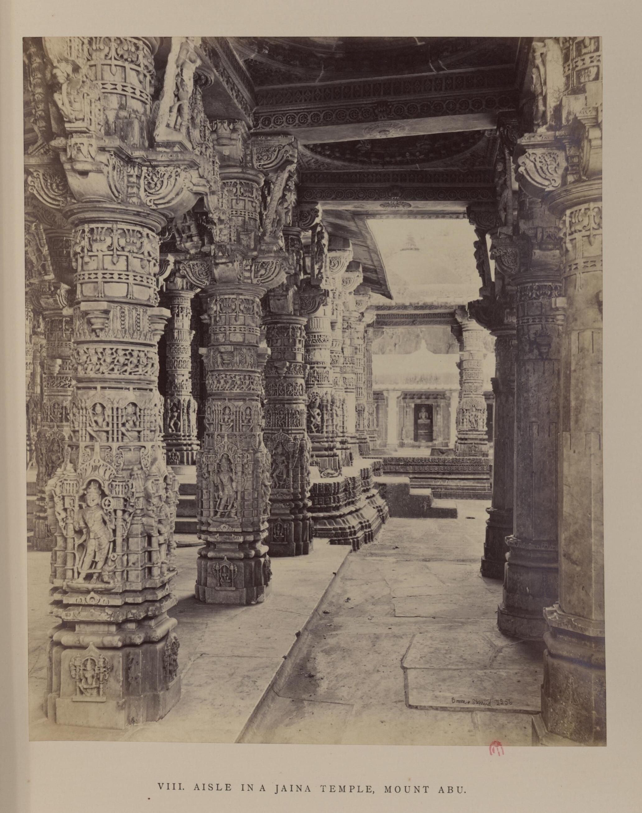 Маунт-Абу. Джайнский храм. Неф