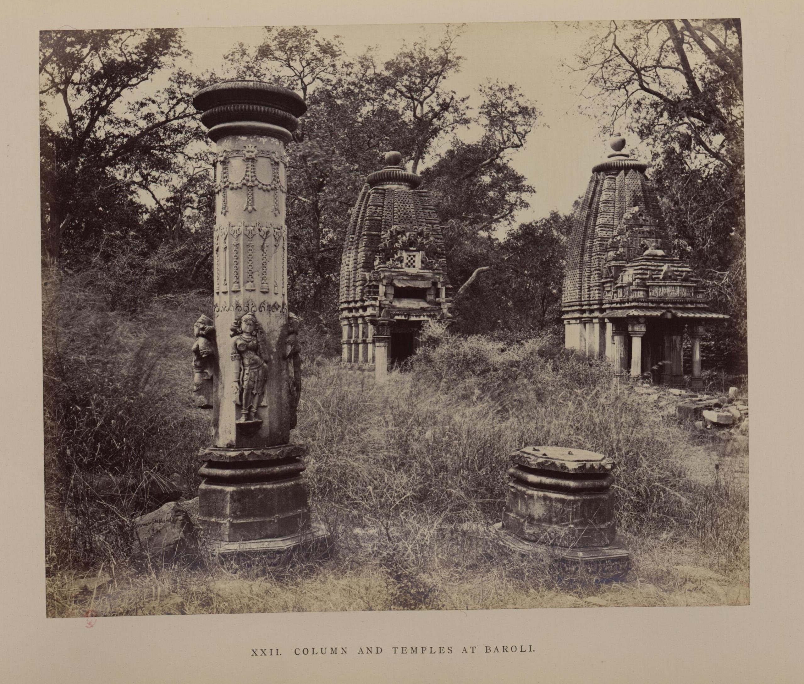 Бароли. Колонна и храмы