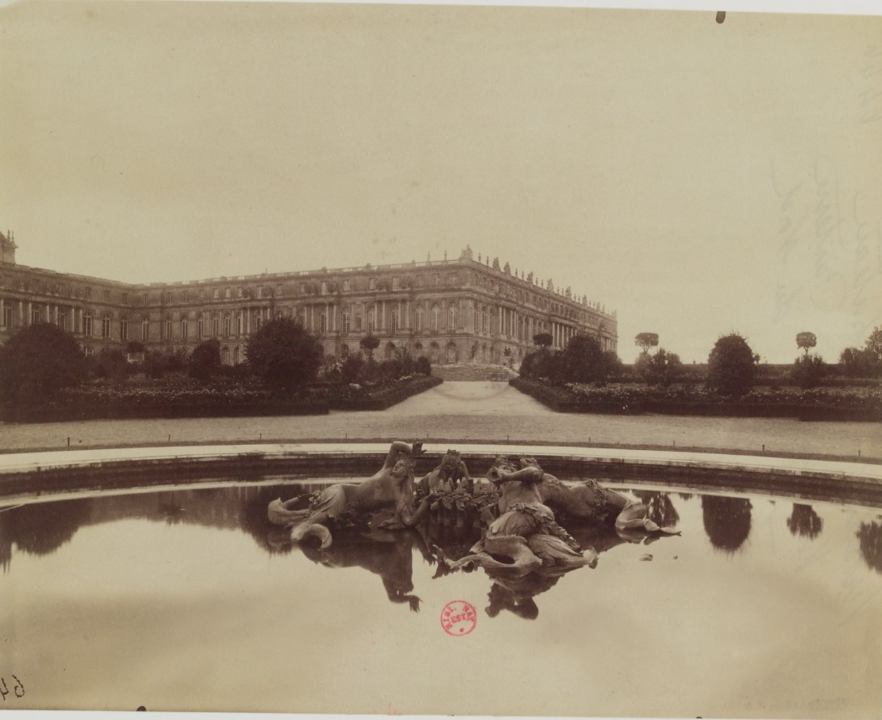 Версальский дворец. Общий вид