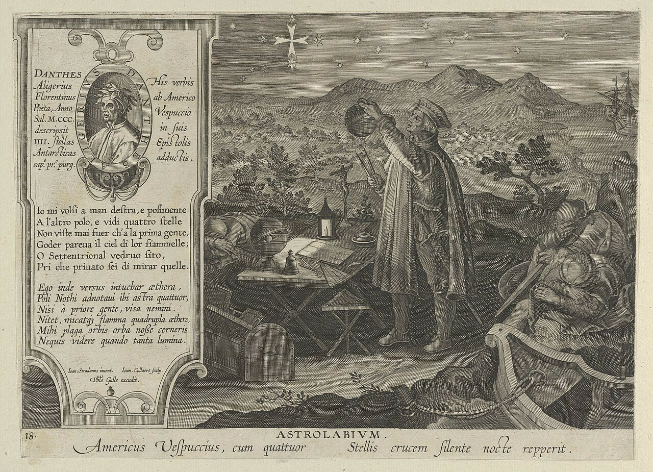 1280px-New_Inventions_of_Modern_Times_-Nova_Reperta-,_Amerigo_Vespucci_Discovering_the_Southern_Cross_with_an_Astrolabium,_plate_18_MET_DP841115.jpg