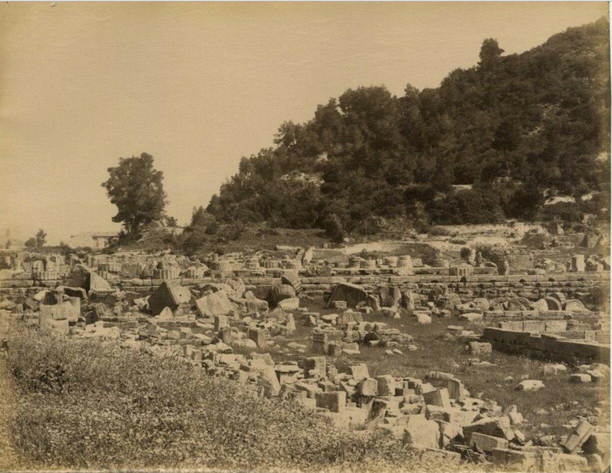 Храм Зевса. 1890-е