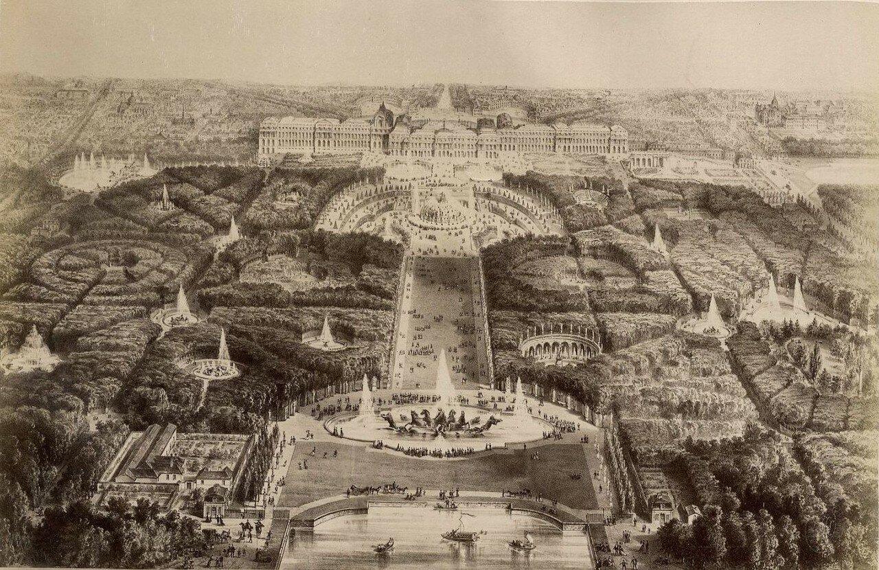 Панорама Версаля