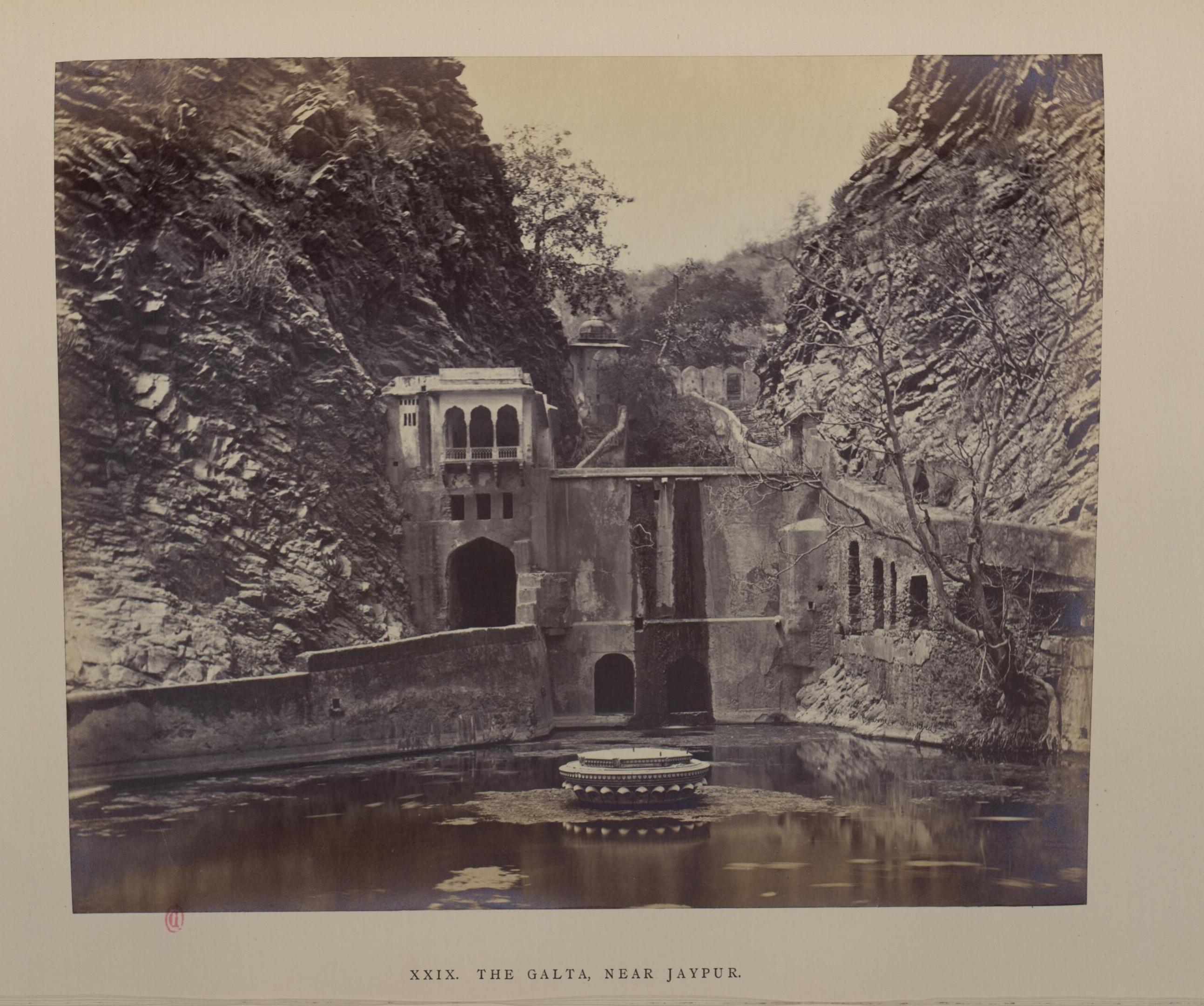 Окрестности Джайпура. Галта