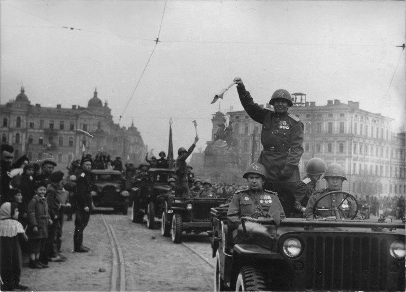 Киев, Украина, СССРВремя съемки: 01.05.1945