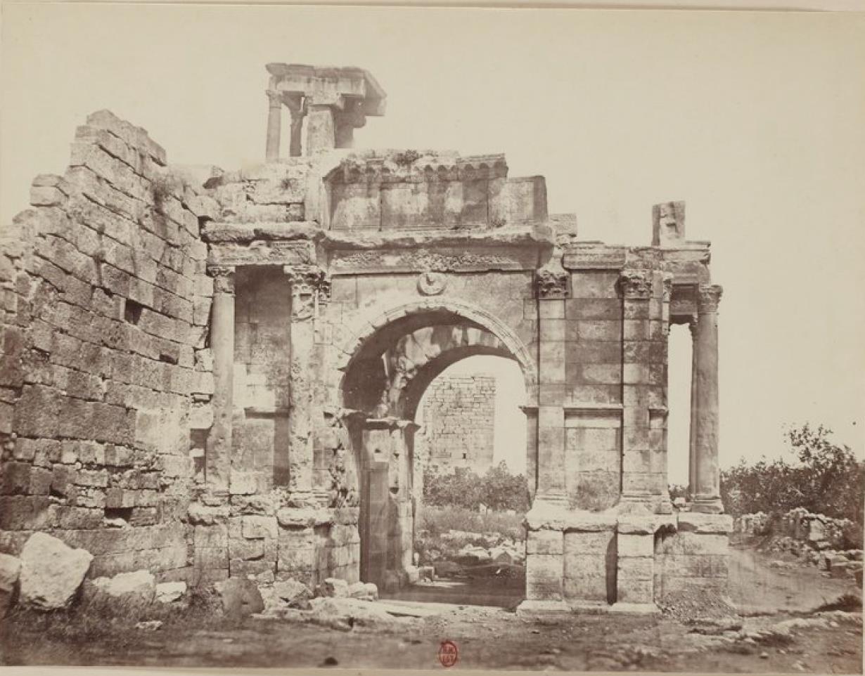 Тебесса. Триумфальная арка Каракаллы