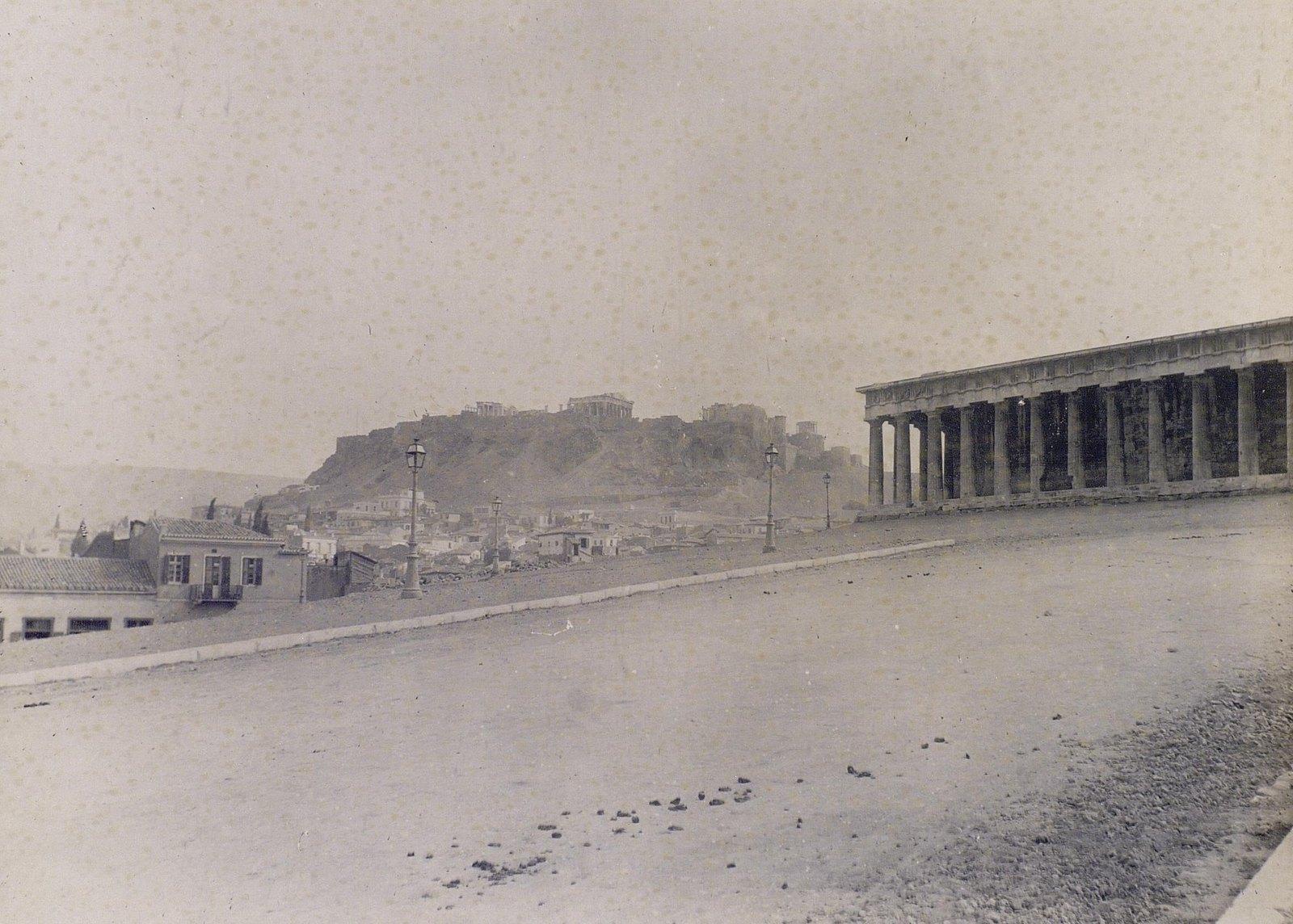 08. 1890. Греция. Панорама Афин