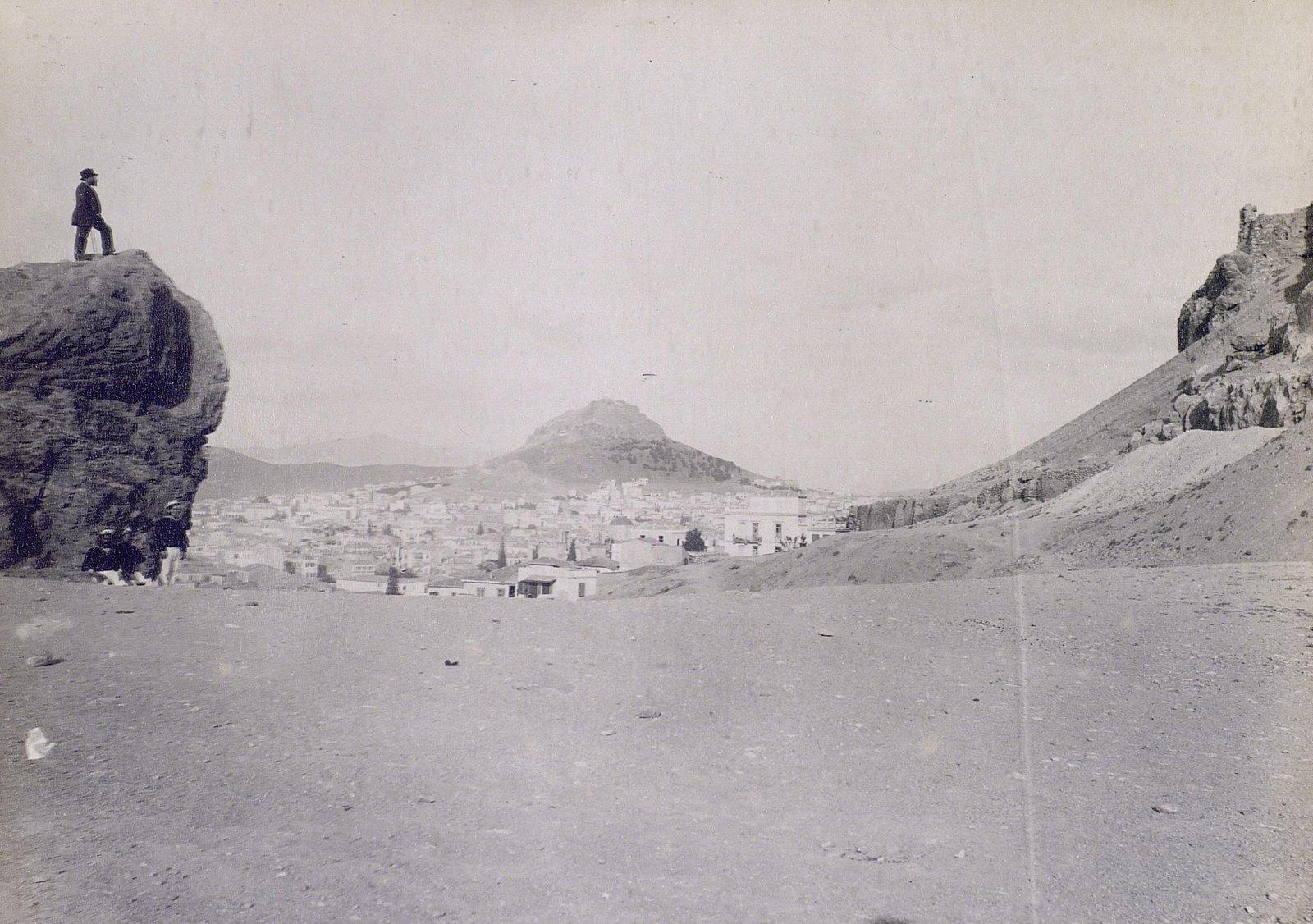 05. 1890. Греция. Вид Афин