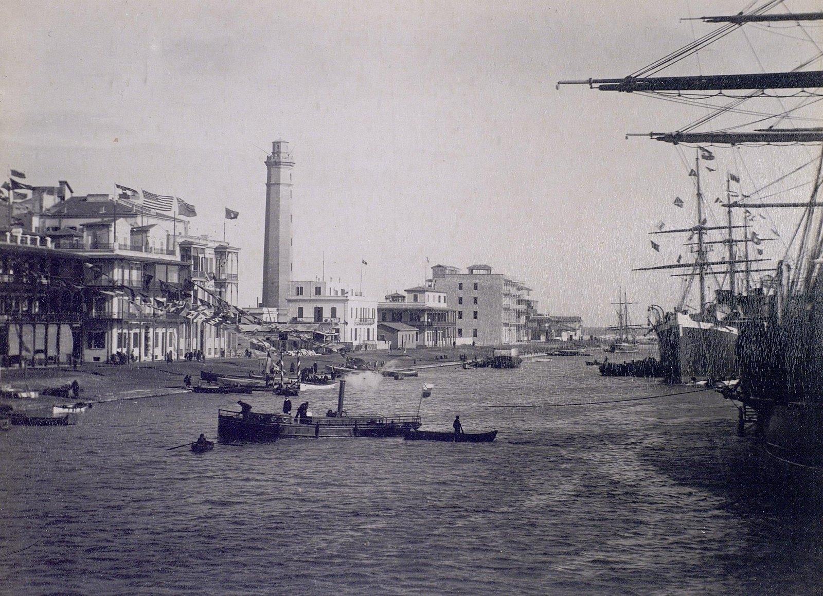 18. 1890. Египет. Вид Александрии