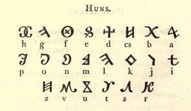 язык гуннов