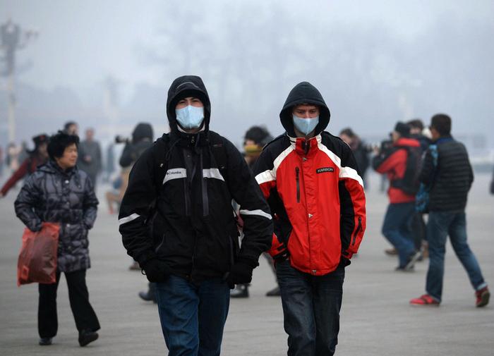 Воздух в Пекине и некоторых других городах. | Фото: Великая Эпоха.
