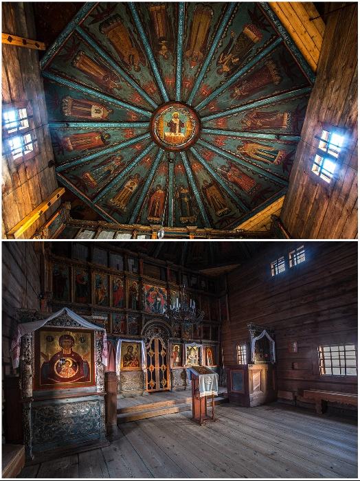 Старинные образцы церковной живописи утрачены навсегда (Успенская церковь, Кондопог).   Фото: ru.wikipedia.org/ © Timin Ilya.