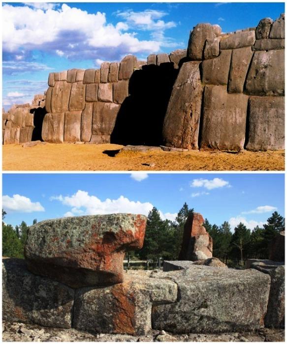 Образцы древней полигональной кладки созданной в Египте. | Фото: terrao.livejournal.com.