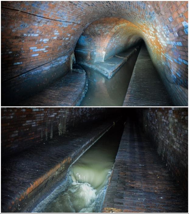 В подземелье Лодзи лучше не спускаться, если предвидится дождь (Лодзь, Польша). | Фото: moya-planeta.ru/ urban3p.ru.