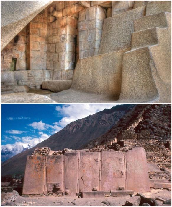 Полигональная кладка из разных типов блоков (Перу). | Фото: laiforum.ru.