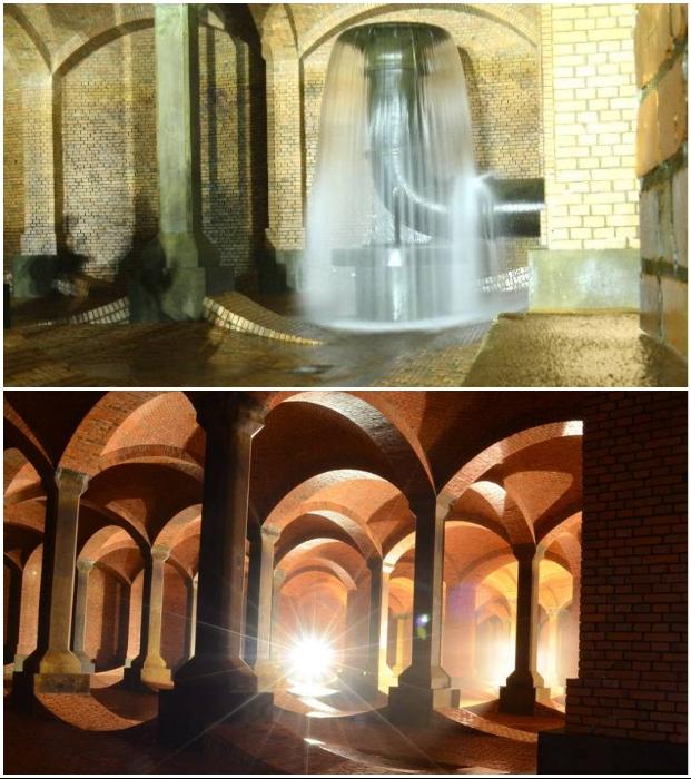 Гигантские резервуары для воды получили название «Подземные соборы» (Лодзь, Польша). | Фото: polomedia.ru.