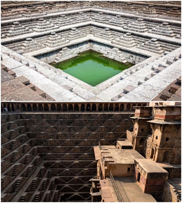Ступенчатые колодцы Индии – загадочные подземные лестницы, ведущие не только к живительной влаге.