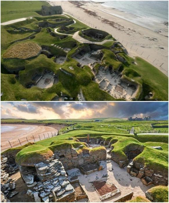 Древнейшая стоянка Скара-Брей на территории залива Скайл - самая большая в Европе на сегодняшний день (Шотландия). | Фото: incomartour.com.ua.