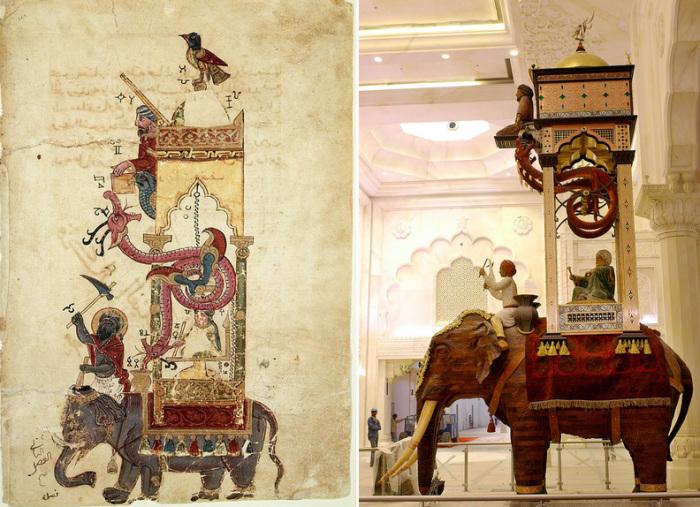 Изобретения Исмаила аль-Джазари. | Фото: Хроника.инфо.