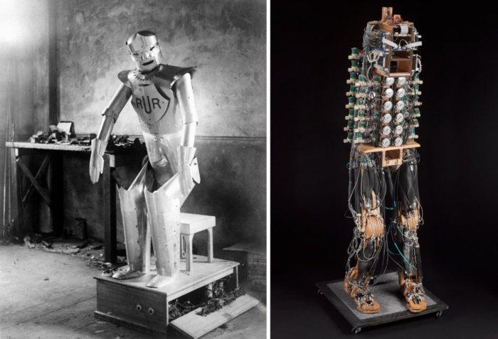 Робот Эрик. | Фото: IBTimes UK.