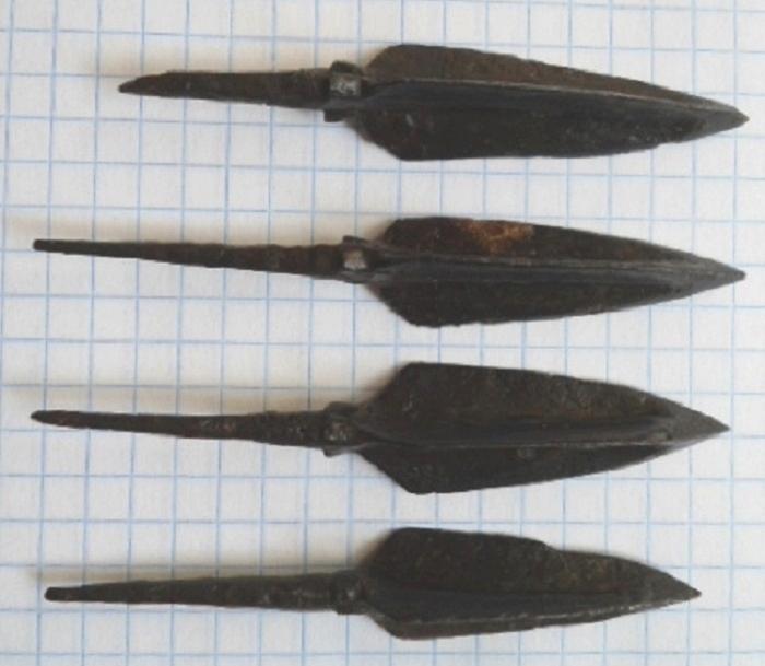 Трехлопастные наконечники стрел были самыми древними. /Фото: swordmaster.org