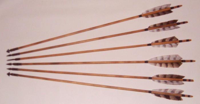 Прямые стрелы из прямых деревьев. /Фото: samlib.ru