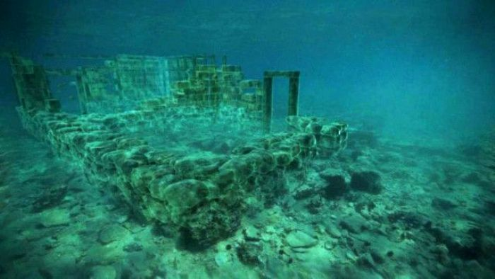 Самый древний античный город. /Фото: bbc.co.uk