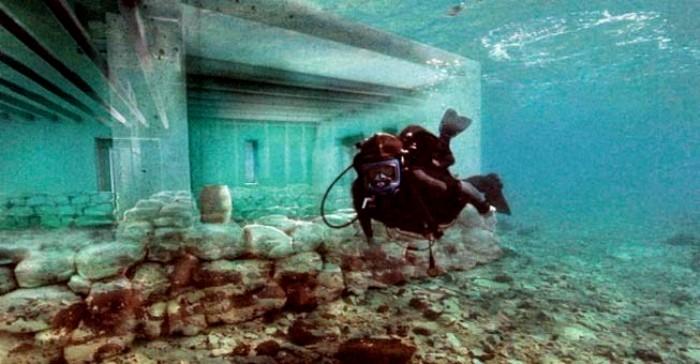 Внезапно найденный античный город. /Фото: ilovegreece.ru