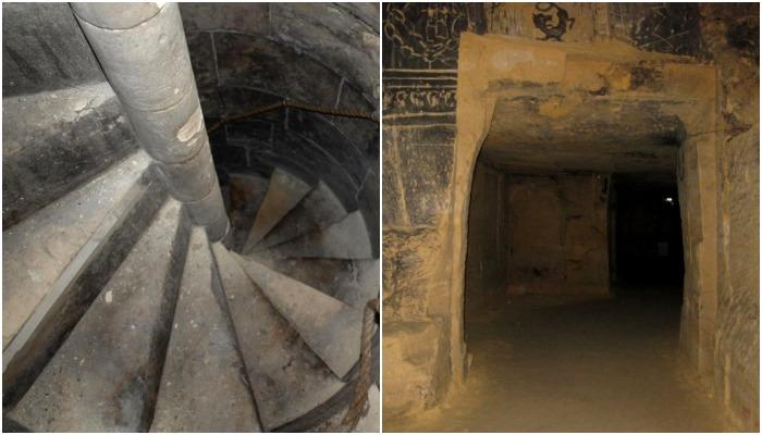 Не бывало средневековых замков без секретных ходов и подвалов. /Фото: quora.net, exploring-castles.com