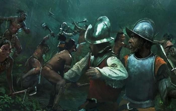 Испанцы не простили ацтекам Ночь печали. /Фото: homsk.com