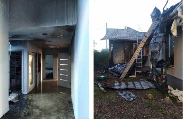 В Киеве сожгли дом местного активиста (ФОТО)   Русская весна