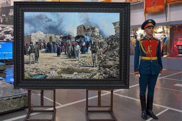 «Великие воины»: Испанский художник о российских военных в Сирии (ФОТО) | Русская весна
