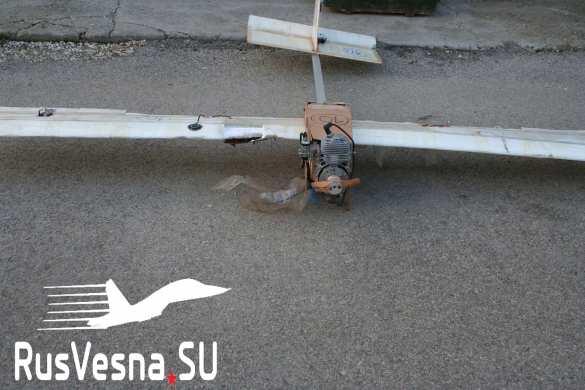 У базы ВКС в Сирии РЭБ перехватила вражеский беспилотник с интересным содержимым (ФОТО) | Русская весна