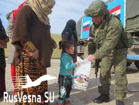 Сирия: Армия России спасает брошенную Штатами пехоту Коалиции США (ФОТО)   Русская весна