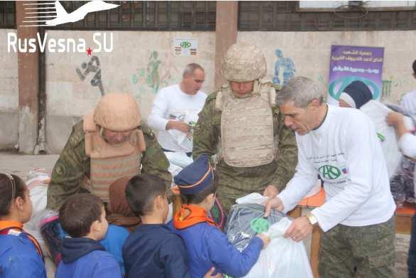 Важный груз из Чечни доставлен в бывший штаб террористов в Алеппо (ФОТО)   Русская весна