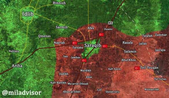 СРОЧНО: Армия Сирии взяла важнейшую крепость боевиков в Идлибе (КАРТА) | Русская весна
