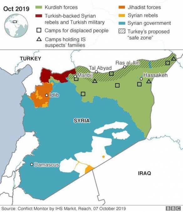 Тайные пружины новой войны в Сирии: каковы планы России, США, Анкары и Дамаска (КАРТА)   Русская весна