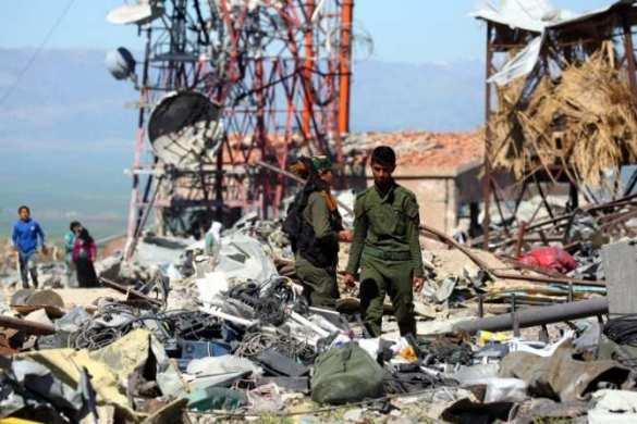 Сирия: США бросили на растерзание главную ударную силу Коалиции и снова зовут союзников (ФОТО) | Русская весна