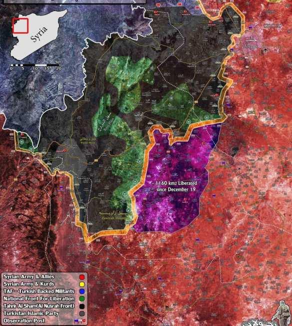 Стремительный удар САА в Идлибе: освобождены сотни населённых пунктов (ВИДЕО, КАРТА) | Русская весна