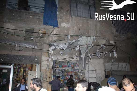 Жуткие кадры: улицы залиты кровью — враг нанёс удар по крупнейшему городу Сирии (ФОТО, ВИДЕО 18+) | Русская весна