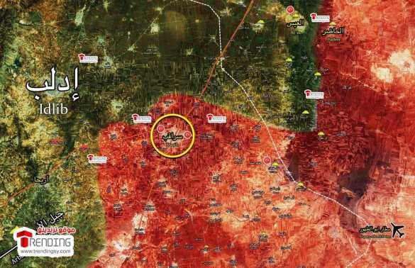 СРОЧНО: Армия Сирии взяла важнейшую крепость боевиков в Идлибе (КАРТА)   Русская весна