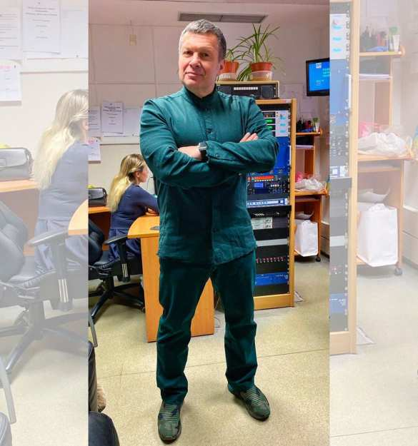 Соловьёв ответил на нападки Зеленского (ФОТО, ВИДЕО) | Русская весна