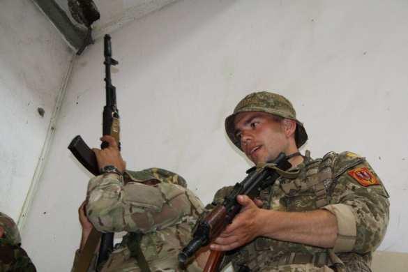 Пуля в лицо: На Донбассе ликвидирован командир разведки морской пехоты ВСУ (ФОТО) | Русская весна