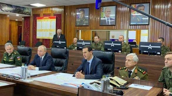 СРОЧНО: Путин прибыл в командный пункт российской группировки в Дамаске (ФОТО)   Русская весна