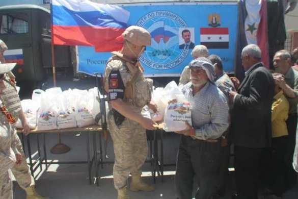 Восточная Гута: Военную полицию РФ встречают в бывшей крепости боевиков (ФОТО)   Русская весна