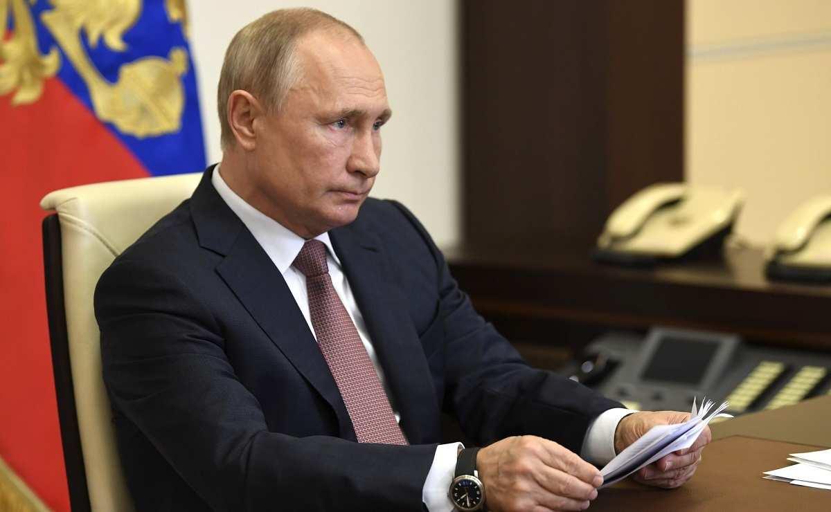 «Спасибо вамзаподдержку!» — Путин обращается кроссиянам (ВИДЕО) | Русская весна