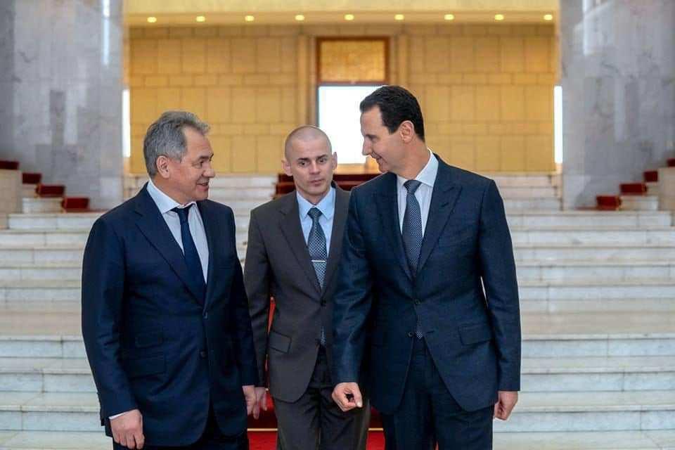 Шойгу привёз Асаду послание отПутина (ФОТО, ВИДЕО) | Русская весна