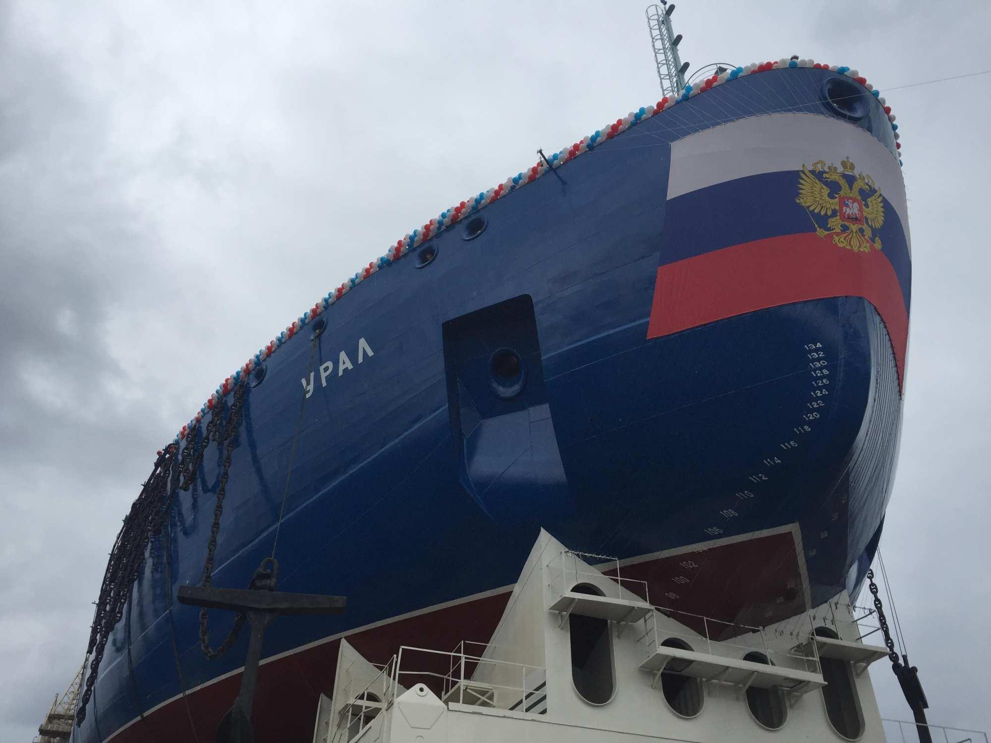В Петербурге спустили на воду новый атомный ледокол (ФОТО) | Русская весна