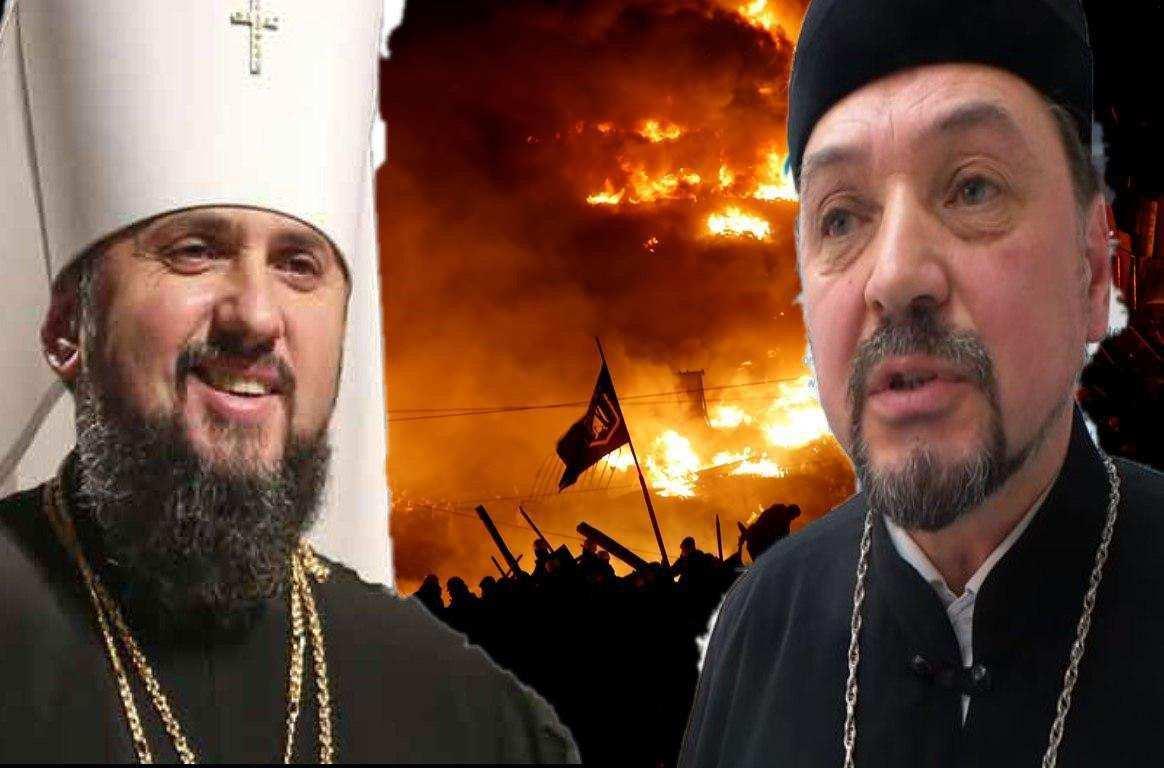 «Безбожники, в их глазах рабство и страх!» — священник Филарета рассказал правду о «коммерческом патриархате» (ВИДЕО)   Русская весна
