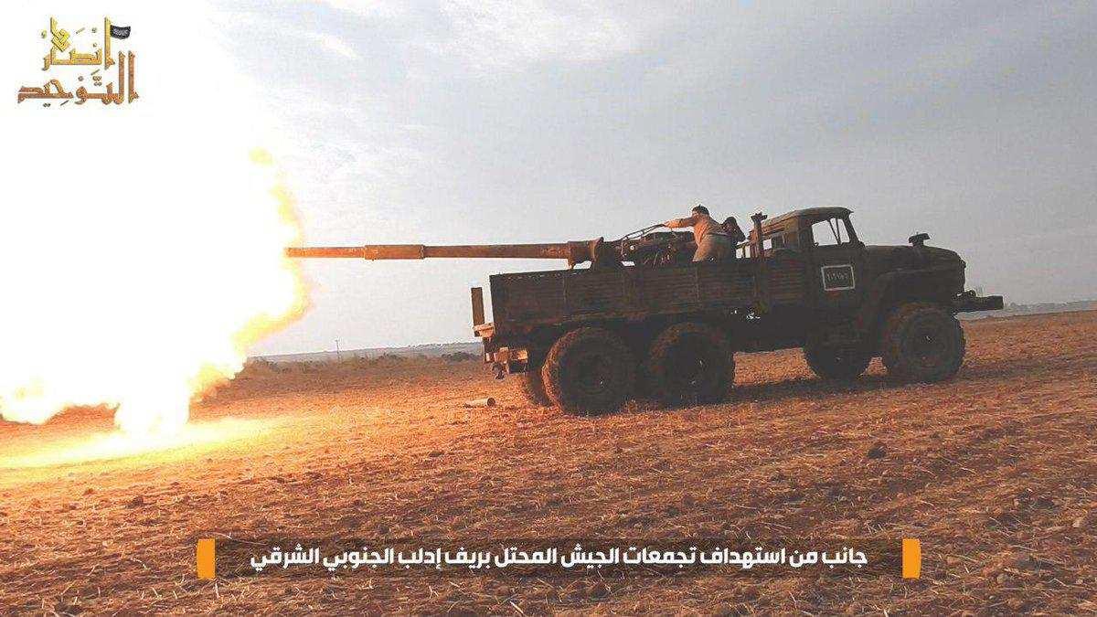 СРОЧНО: Армия боевиков пытается прорваться в Идлибе, идут жестокие бои (ВИДЕО) | Русская весна